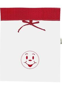 Saquinho Organizador Cuca Criativa Vermelho - Tricae