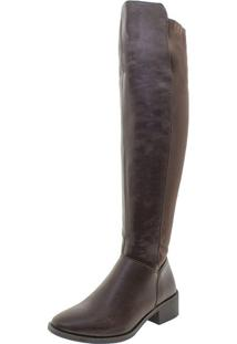 Bota Feminina Over The Knee Florentina - Bo65 Café 35