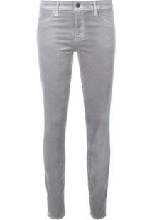 J Brand Calça Jeans Skinny - Cinza