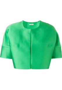 P.A.R.O.S.H. Jaqueta Cropped - Green