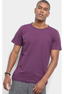 Camiseta Redley New Basic Masculina - Masculino-Roxo