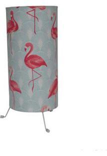 Luminária Pé Virado Para 1 Lâmpada Flamingo Ls Ilumina