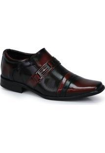 Sapato Social Masculino Urbano Vinho