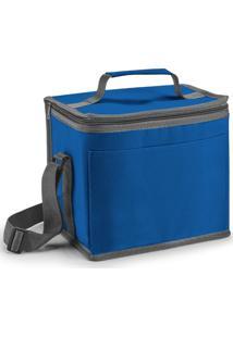 Bolsa Térmica Média Tropical Topget Azul - Kanui