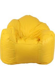 Puff Ostra Pop Amarelo Stay Puff