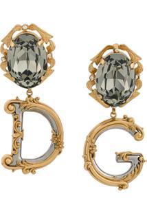 Dolce & Gabbana Par De Brincos Clip On - Dourado