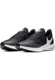 Tênis Nike Zoom Winflo 6 Feminino - Feminino-Preto+Branco