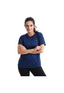 Camiseta Feminina Sting - Azul Marinho - Líquido