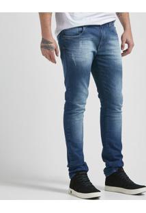 Calça Jeans Dark Blue Skinny