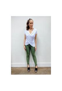 Calça Prada Ziper - Verde