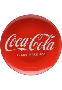 Jogo De Pratos Para Sobremesa Coca-Cola® - Vermelho & Brurban