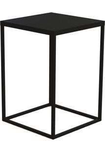 Mesa Cube G Preto Artesano