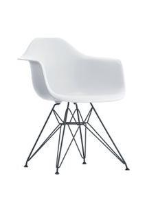 Poltrona Eames Dar Com Braço Or Design Branco