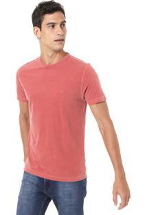 Camiseta Aramis Stone Vermelha