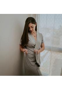 Robe Em Malha M Dica De Lingerie