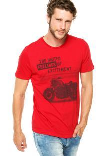 Camiseta Sommer Excitement Vermelha