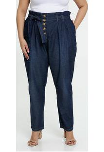 Calça Jeans Clochard Feminina Plus Size