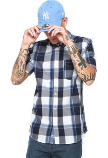 Camisa Element Deschutes Ss Azul