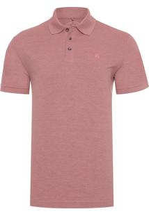 Polo Masculina Simple Basic Barbie - Rosa