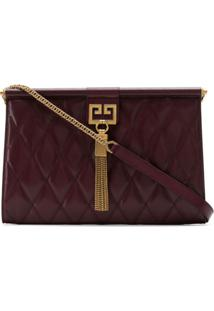 Givenchy Bolsa Transversal 'Gem' De Couro - Vermelho