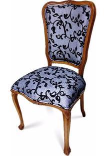 Cadeira Chippendale Entalhada Em Madeira Com Pinturas E Tecidos Personalizáveis