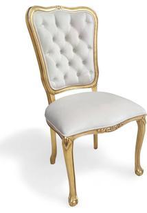 Cadeira Chippendale Entalhada Madeira Maciça Design De Luxo Peça Artesanal