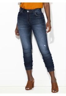 Calça Jeans Skinny Bia Azul