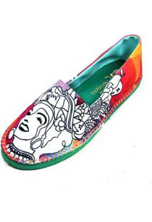 Alpagarta Shoes Inbox Cupcakes Shoes Chiquita Feminina - Feminino-Laranja+Vermelho
