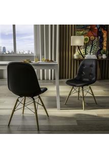 Cadeira Eames Dsw - Botonê Preto