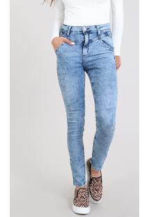 bf48edcfa R$ 109,99. CEA Calça Jeans Feminina Super Skinny Com Bolsos Azul Claro