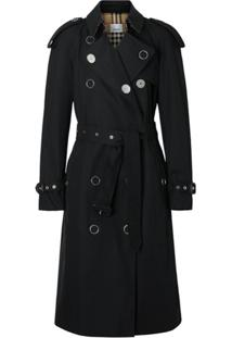 Burberry Trench Coat Kensington Heritage - Preto