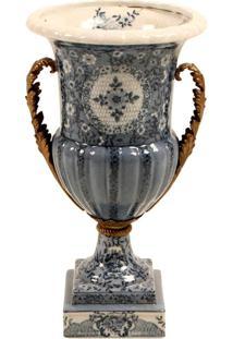 Vaso Decorativo De Porcelana Magrebe V
