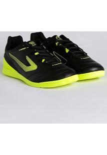 Tênis Futsal Masculino Topper Boleiro Ii Indoor Preto/Amarelo
