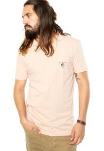 Camiseta Redley Estampa Rosa