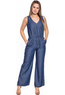 Macacão Jeans Aero Jeans Azul