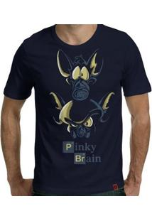 Camiseta Pinky E Cérebro