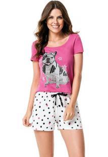 3d8ddd6cd -20% Pijama Rosa Malwee Liberta