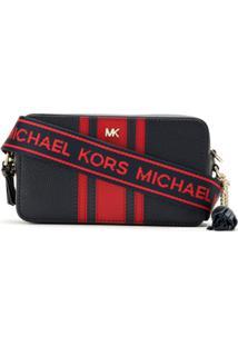 Michael Michael Kors Bolsa 'Camera' Tiracolo - Azul