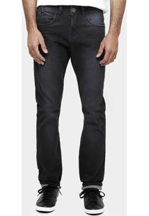Calça Jeans Razon Slim Fit Stone Black - Masculino