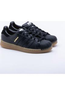 b8fb8b91994 Sneaker Adidas Couro feminino