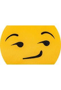 Almofada Capital Do Enxoval Emoji Sarcastico Estampado