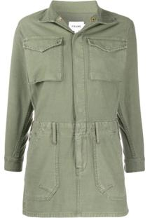 Frame Vestido Slim - Verde