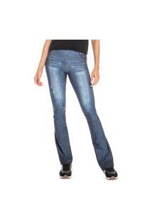 Calça Live! Flare Jeans Beat Azul