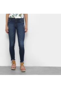 0c16603f9 ... Calça Jeans Skinny Colcci Fátima Cintura Média Feminina - Feminino