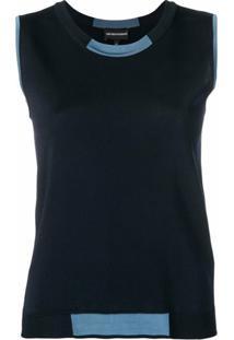 Emporio Armani Blusa De Tricô - Azul