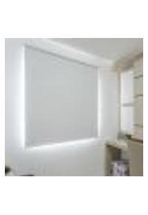 Persiana Rolo (0,80Lar. X 1,50Alt.) Tecido Blackout - Branco
