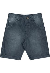 Bermuda Jeans Escuro - Masculino