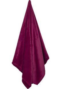 Cobertor Flannel Loft Queen Size- Bordã´- 220X240Cm
