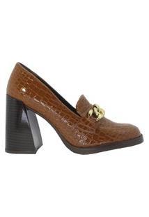 Sapatos Suzana Santos Sapato Marrom
