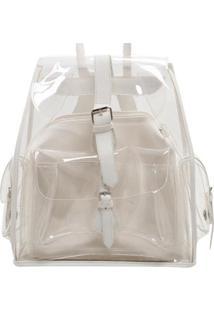 96739aa2b R$ 159,98. Zattini Bolsa Feminina Branca Cristal - Colorida Feminino-Branco  Birô